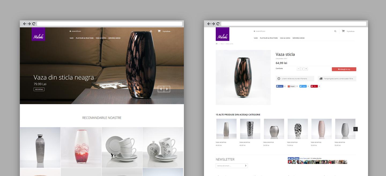 Malooki website on desktop